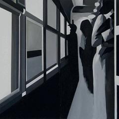 Sans titre, 2010, techniques mixtes, 2 x 130 x 200 cm