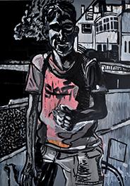 Sans Titre, 2011 Acrylique, 150 x 230 cm