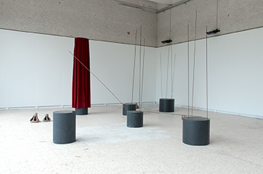 Carnis, 2012 Installation, dimensions variables, matériaux mixtes