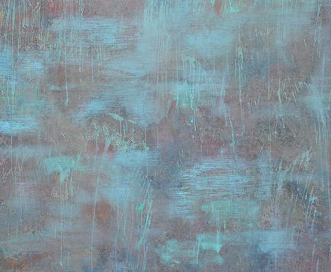 Contingence I, 2011 Peinture sur toile, 240 x 220 cm