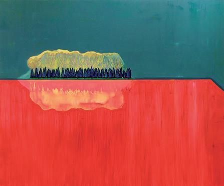 Sans titre, 2013 Huile sur toile, 240 x 200 cm