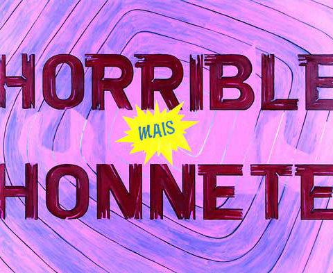 Horrible mais honnête #1 2002 Huile sur toile, 150 x 190 cm Photographie Frédéric Aubert
