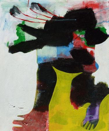 LUNDI-MUTINERIE - 2011 acrylique sur toile (50x60cm)