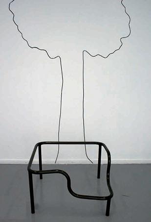 étude sur s'asseoir, 60 x 60 cm, 2007