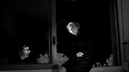 Sans titre [extrait de la série Noir] / 2007 / tirage jet d'encre / env. 17 x 30 cm