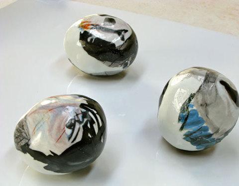 Les Gueules - 2007 Porcelaine, environ 17 cm