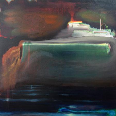 Remodelage - 2009 Huile sur toile - 100 x 100 cm ( Collection particulière )