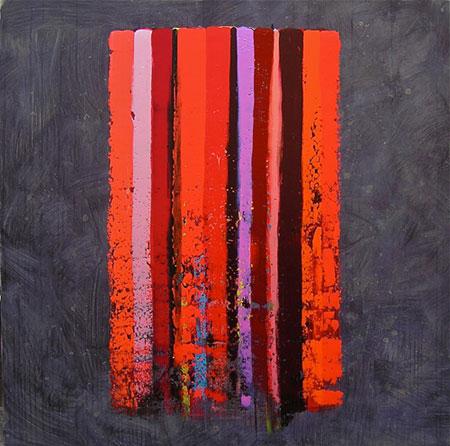 EvetemadA MC, 02/10 2010 Acrylique sur toile, 120 x 120 cm