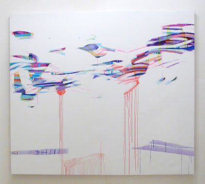 Sans titre - 2011 acrylique sur toile - 204x232 cm