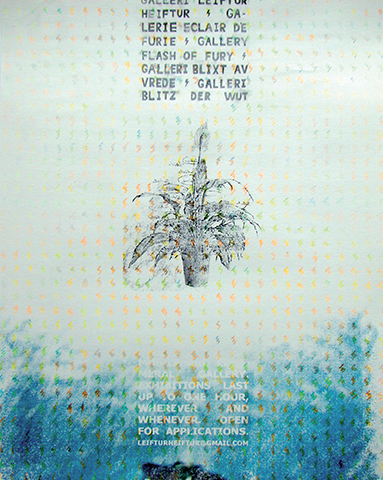 Galerie Éclair de Furie, appel à projets 2013, dessin
