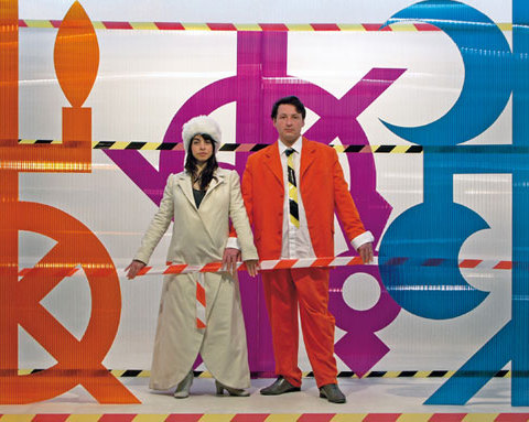 Les mariés de Nicolas et Marie-Aurélie, 2010 Photographie